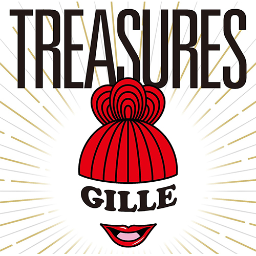 画像1: GILLE (JILLE) / TREASURES (全16曲)【限定・特典付】CMソング、ドラマ主題歌 etc 豪華コラボレーション楽曲多数収録!